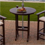 """Round 36"""" Outdoor Bar Table"""