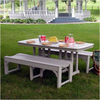 Traditional Picnic Dining Set