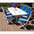 Nautical Signature 8-Seat Dining Set