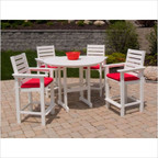 Captain Outdoor Counter Dining Set
