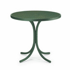 "30"" Round Dining Height Perforated Table"