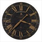 "Bond Street 18"" Laminated Clock"