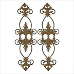 Lacole Decorative Metal Wall Art, Set of 2