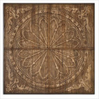 Camillus Wall Art in Light Antiqued Stain