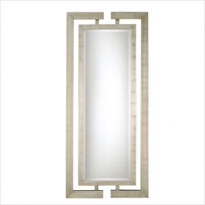 Silver Jamal Full Length Mirror 14097