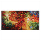 Bright Foliage Wall Art