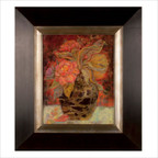 Floral Buna Fine Art Oil Reproduction
