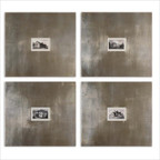 Historical Buildings I, II, III and IV Wall Art (Set of 4)