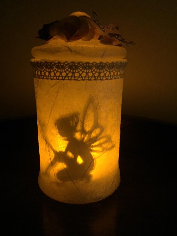 Fairy Lantern With Tutorial Fairy Gardens Australia