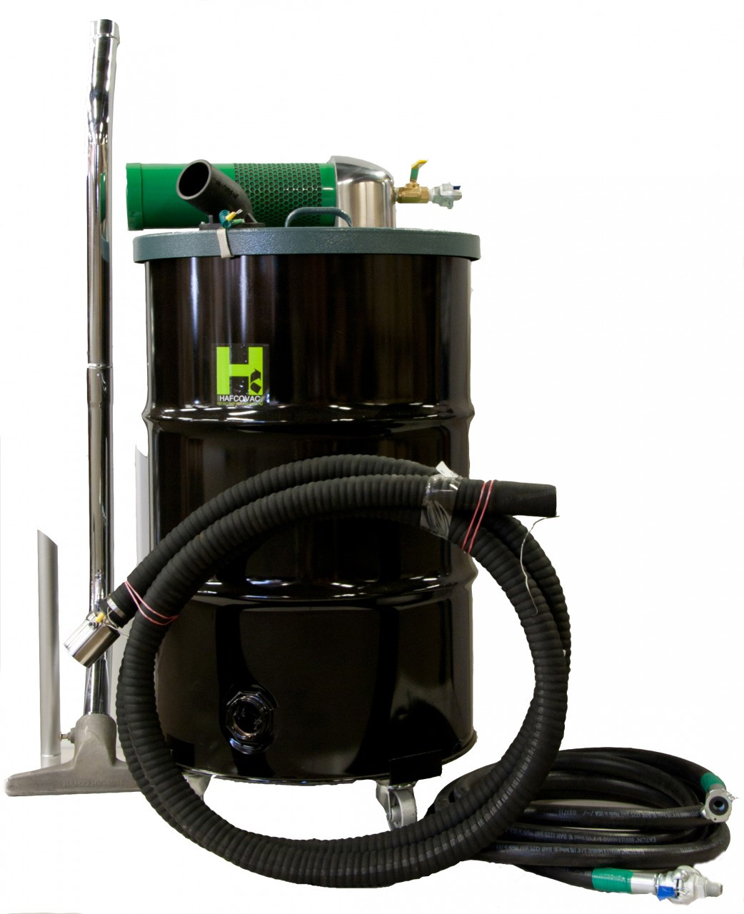Air Powered Vacuum : Compressed air vac w quot hose kit gal hv v