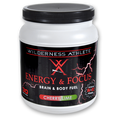 Cherry Lime Energy and Focus Tub by Wilderness Athlete