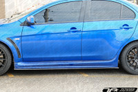 TF Mitsubishi EvoX Side Skirt Carbon Fiber Extension