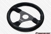 Sparco Competition R 383 Steering Wheel - 330mm Dia. - Suede