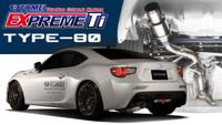 Tomei Expreme Ti Titanium Exhaust Type-80 Toyota 86 Scion FR-S Subaru BRZ