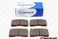Carbotech AX6 Brake Pads - Rear CT1114 - Subaru Impreza WRX