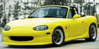 Charge Speed FRP Side Skirts - Mazda Miata NB