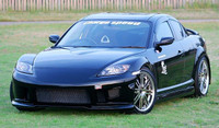 Charge Speed FRP Front Bumper - Mazda RX8