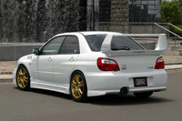 Charge Speed Type-1 FRP Rear Bumper - Subaru WRX GD