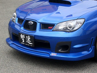 Charge Speed S-Type FRP Front Spoiler - Subaru WRX GD (Hawk / New Eye)