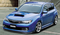 Charge Speed Bottom Line Type-2 FRP Front Lip - Subaru WRX STi GR