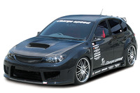 Charge Speed FRP Side Skirts - Subaru WRX STi GR