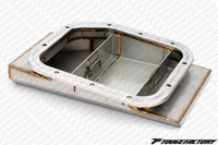 Circuit Sports Oversized Oil Pan w/ Baffle Door - Nissan SR20DET