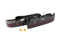 Circuit Sports LED Rear Tail Lights - Smoked - Nissan 240SX S13 Coupe