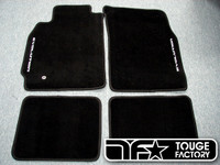 """Evolution"" Logo Floor Mats for Mitsubishi Evo 7 8 9"