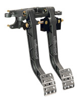 Wilwood Aluminum, Forward Facing, Swing Mount Brake & Clutch Pedal Set