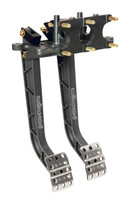 Wilwood Aluminum, Reverse Facing, Swing Mount Brake & Clutch Pedal Set
