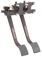 Wilwood Aluminum, Reverse Facing, Swing Mount Brake & Clutch Pedal Kit