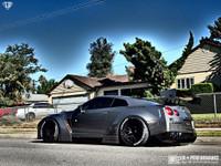 LB-Works Nissan GTR R35 Rear Diffuser