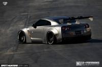 LB-Works Nissan GTR R35 Rear Wing