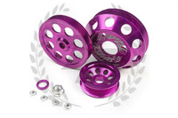 TF Lightweight Aluminum Pulley Kit S13 SR20DET - Purple