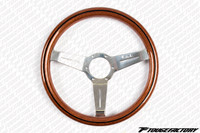 Nardi Classic 330mm Wood Grain Steering Wheel w/ Polish Spokes