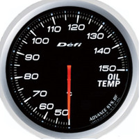 Defi Advance BF 60mm Oil Temp Gauge White