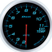 Defi Advance BF 60mm Exhaust Gas Temp Gauge Blue
