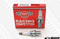 NGK Racing Spark Plugs Mitsubishi Evo X One Step Colder - (4 pack)