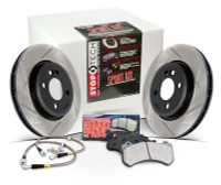Stoptech Slotted Sport Brake Kit- Front- Scion FRS & Subaru BRZ