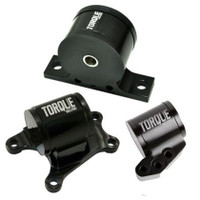 Torque Solution Billet Aluminum 3pc Engine Mount Kit - Mitsubishi EVO 8 / 9