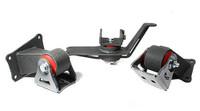 Innovative Mounts Steel Honda S2000 Engine Mount Kit (3pc)