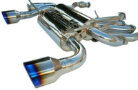 Invidia Gemini Rolled Stainless Steel Tip Cat-Back Exhaust - Nissan 350Z 2002-08