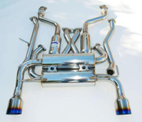 Invidia Gemini Single Layer Titanium Tip Cat-Back Exhaust - Nissan 350Z 2002-08
