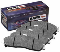 Hawk Performance HPS Rear Performance Ceramic Brake Pad - 97-01 Acura Integra, 02-06 RSX, 04-08 TSX, 00-09 Honda S2000