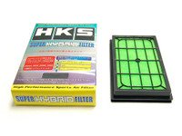 HKS Drop In Filter - 87-89 Nissan 300ZX, 03-07 350Z, S13, S14, S15, R32
