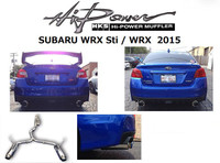 HKS Hi-Power Muffler Carback Exhaust 2015 WRX / STi