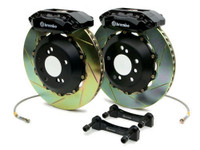 Brembo Black Front Slotted Big Brake Kit - 99-02 Nissan Skyline GT-R R34