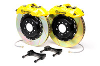 Brembo Yellow Rear Slotted Big Brake Kit - 99-02 Nissan Skyline GT-R R34