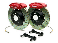 Brembo Red Drilled Rear Big Brake Kit - 99-02 Nissan Skyline GT-R R34