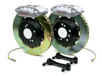 Brembo Silver Slotted Front Big Brake Kit - 99-02 Nissan Skyline GT-R R34